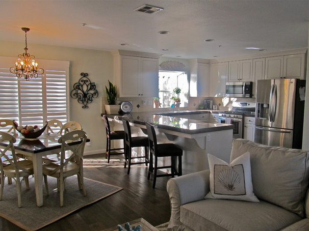 Tropical Kitchen by Impact Interiors
