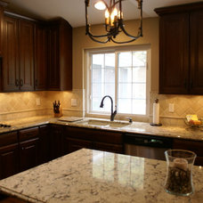 Traditional Kitchen by Briana Feole DaVinci Cabinets & Design