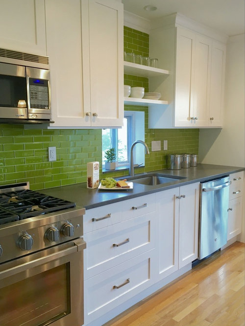 Kitchen Remodel In Chartreuse   Nyack, NY
