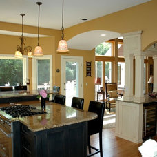 Kitchen by Minnetonka Custom Homes, Inc