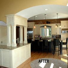 Kitchen by Minnetonka Custom Homes, Inc