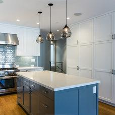 Transitional Kitchen by JL Interior Design, LLC