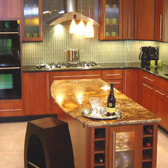 eclectic kitchen by International Kitchen and Bath,Inc.