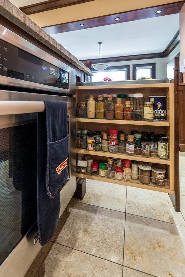 Remodeled Craftsman Kitchen Champaign