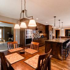 Transitional Kitchen by Dovetail Kitchen Designs