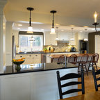 Traditional Kitchen Dining Room Remodel Remove Wall Between Rooms To Create
