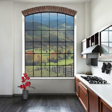 Farmhouse Kitchen by Progressive Solutions / Renaissance Bronze Windows