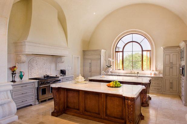 Mediterranean Kitchen by My Villa Austin