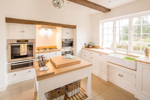 Minimalistisch Küche By Hill Farm Furniture Ltd