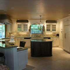 traditional kitchen by RenovateKate