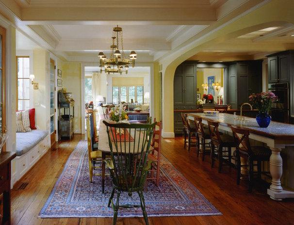 Rustic Kitchen by Barnes Vanze Architects, Inc