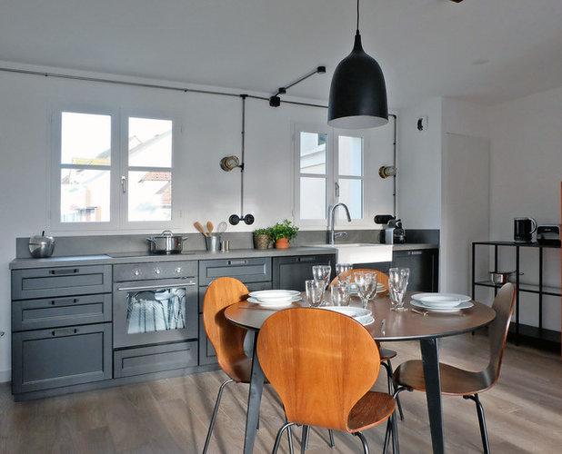 Современная классика Кухня by Barthelemy Seng Architecte d'Intérieur