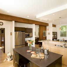 Contemporary Kitchen by Landmark Services Inc
