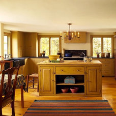 Farmhouse Kitchen by Landmark Services Inc