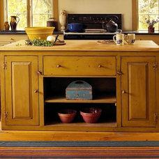 Farmhouse Kitchen by Landmark Services Inc
