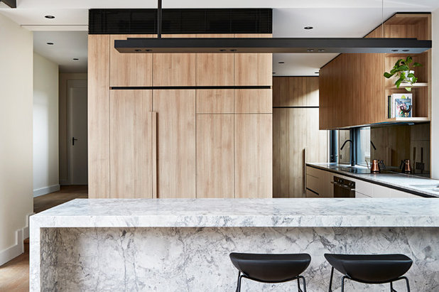 Contemporary Kitchen by dcf design group