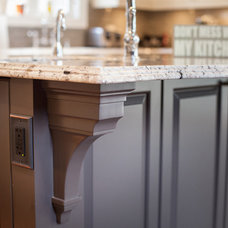 Traditional Kitchen by Rivky Ungar Designs