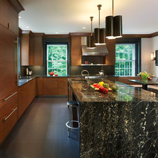 Contemporary Kitchen by Barnes Vanze Architects, Inc