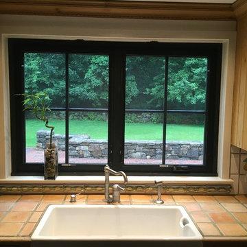 Replacing single pane metal windows with energy dual pane fiberglass windows