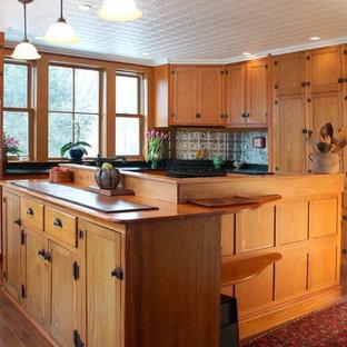 Repurposed Wood Kitchen renovation