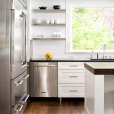 Transitional Kitchen by Dalgleish Construction Company