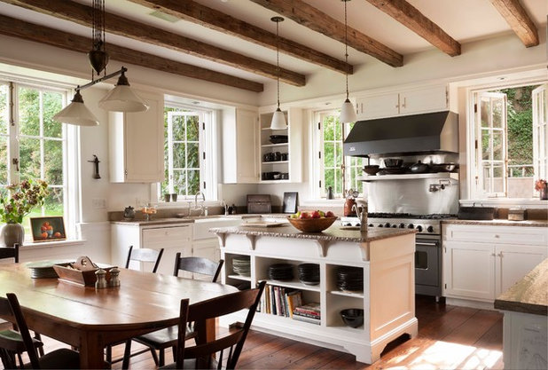 American Traditional Kitchen by John B. Murray Architect