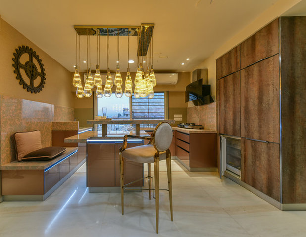 Contemporary Kitchen by Sonali shah