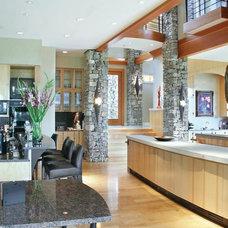 Contemporary Kitchen by Burke Coffey Architecture Design Inc.