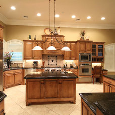 Traditional Kitchen by P.A.S. Interiors, LLC