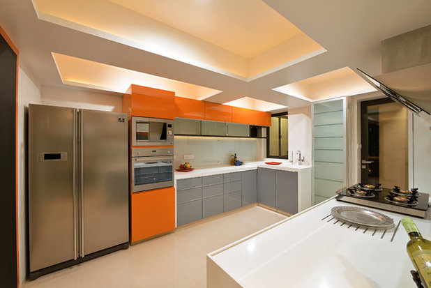 Contemporary Kitchen by sk designs