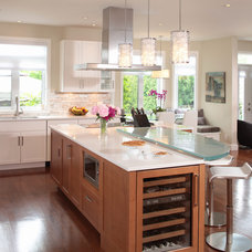 Contemporary Kitchen by Marie Lambert Design