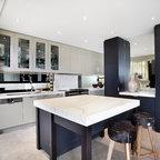 Residential church conversion contemporary family room melbourne by bagnato architects - Maison originale bagnato architecte ...