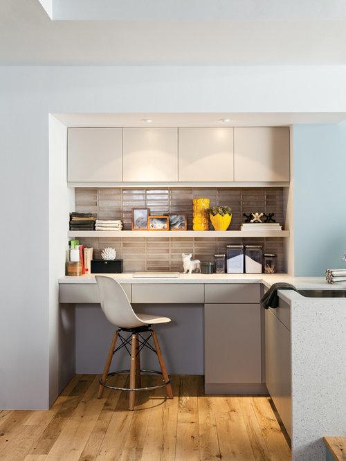 Best kitchen office nook design ideas remodel pictures for Kitchen office nook