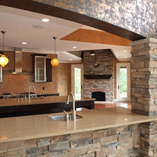 Contemporary Kitchen by Perrino Cabinetry Direct