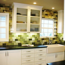 Traditional Kitchen by Mary Ann Downey Interior Design