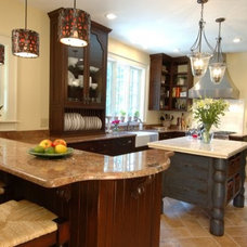 Traditional Kitchen by Heather Beuke Diers