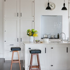 Transitional Kitchen by One Small Room - OSR Interiors & Building Design