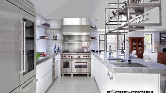 Restaurant Style Clean & Modern Kitchen