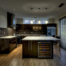 Contemporary Kitchen by Synergy Design & Construction