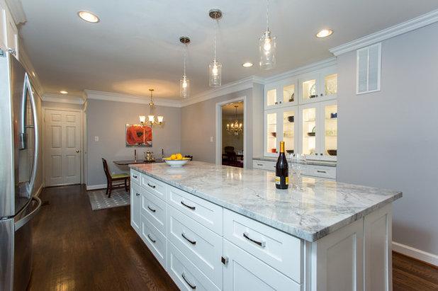 Transitional Kitchen by NOVA Design