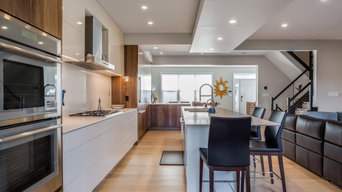 Reston Lakefront Townhome Contemporary First Floor
