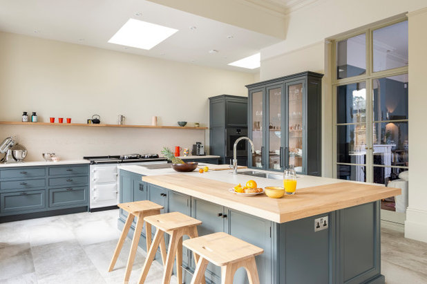 Transitional Kitchen by Absolute Architecture