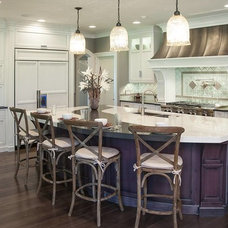 Transitional Kitchen by Mullet Cabinet