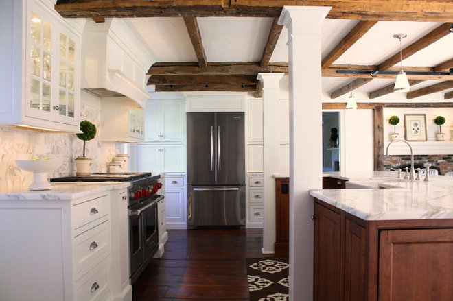 Traditional Kitchen by Thorson Restoration & Construction