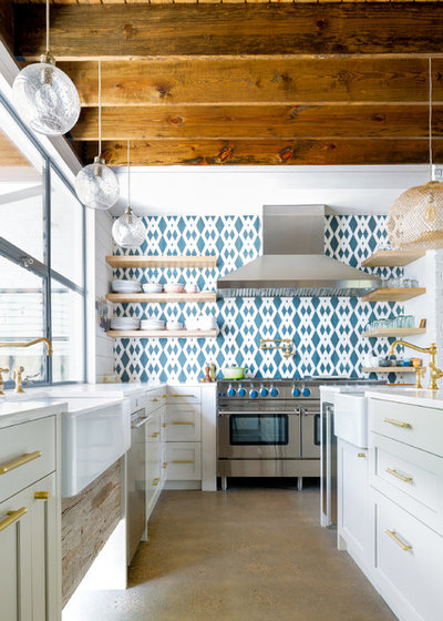 Farmhouse Kitchen by Leonid Furmansky Architectural Photographer