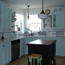 Eclectic Kitchen by Restyled Home