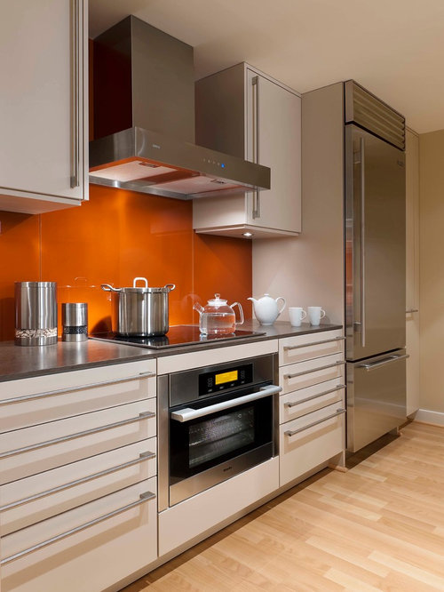 Trendy Kitchen Photo In DC Metro With Stainless Steel Appliances