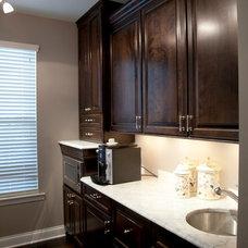 Traditional Kitchen by Nickolas John Interiors, LLC