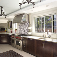 Traditional Kitchen by Phantom Screens