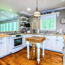 Traditional Kitchen by Tinsley Construction and Building Improvements
